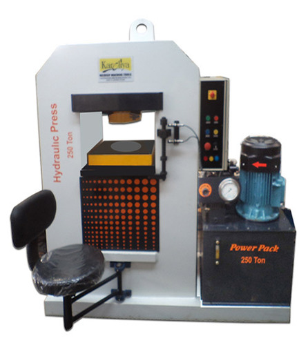 Gold and Silver Coin Embossing Hydraulic Press Machine 250