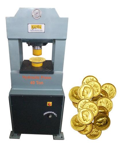 Gold Coin C Type 40 Ton Hydraulic Press Machine In Rajkot