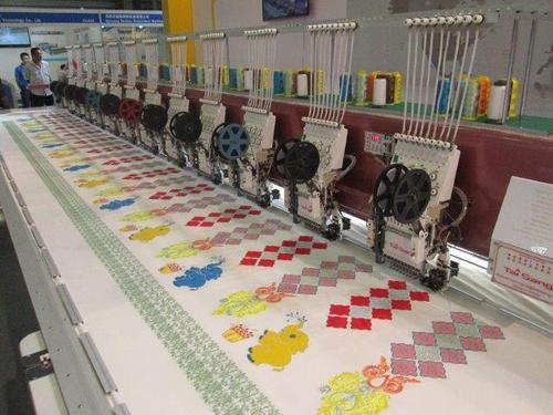 TSE- Embroidery Machine With Applique Embroidery And Dual Sequin in ...