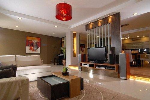 Contemporary Modern Living Room Interior Design Services In Bidhan Sarani Kolkata Stylish Living