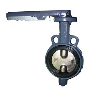 Wafer Softed Seated Butterfly Valve