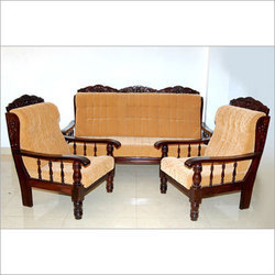 Wooden Sofa Set At Best Price In Chennai, Tamil Nadu | SARAVANA BED MART