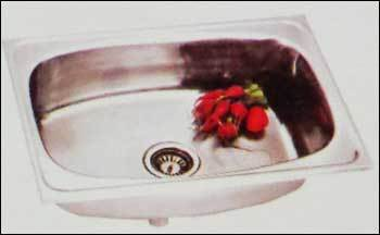 Stainless Steel Kitchen Coral Single Bowl (S/bowl-16)