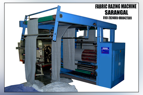 Fabric Razing Machine