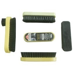 Plastic Base Shoe Polish Brush