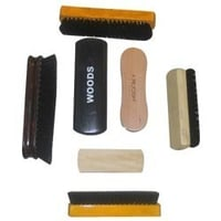 Wooden Base Shoe Polish Brushes