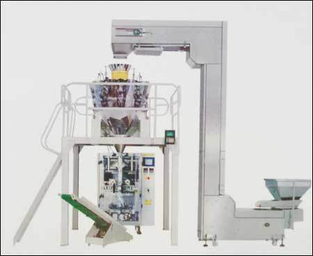 VFFS with Multihead Weigher Machiner