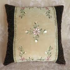 Hand Made Embroidery Cushion Cover