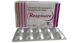 Levocetrizine Paracetamol Phenylephrine Hcl Tablet