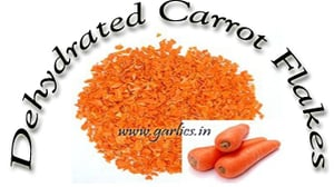 Dehydrated Carrot Flakes And Powder