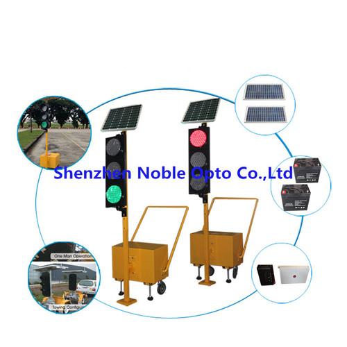 Portable Solar Power LED Traffic Mobile Signal Light