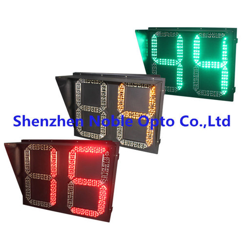 Road Intersection Intelligent Countdown Timer Traffic Light