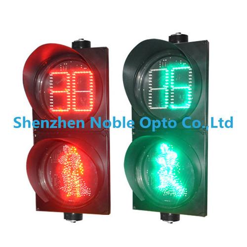 Solar LED Dynamic Pedestrain Traffic Signal