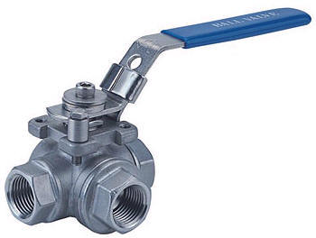 Screwed End Ball Valve in  Kalupur