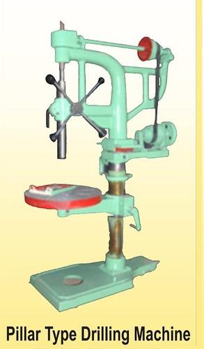 Pillar Type Drilling Machine (V-Belt Driven Motorized Model)