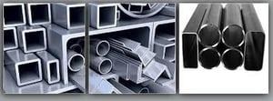 Structural Steel square pipes