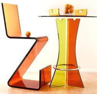 Acrylic Table Chair