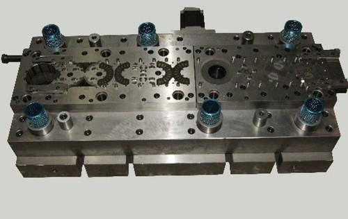 Electric Car Hub Motor Stator Rotor Auto Interlock Stamping