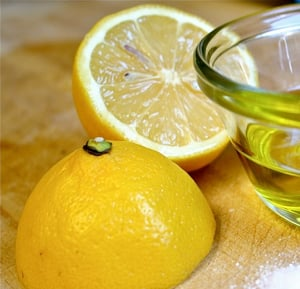 Flavored Olive Oil with Lemon