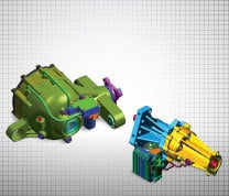 Electronic Limited Slip Differential (eLSD) Front-Drive Axle