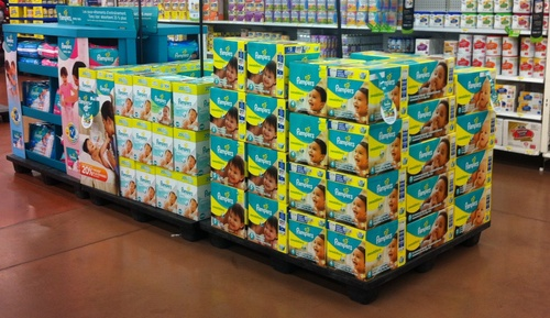 New Pampers Baby Dry Diapers