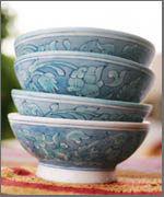 Ceramic Blue Pottery