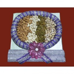 Dry Fruits In Round Shape