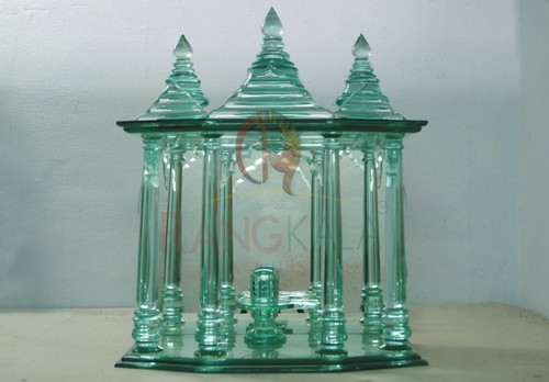 28e9a3d71194 Glass Temple in Surat, Gujarat, India - SHREE RANGKALA GLASS DESIGN