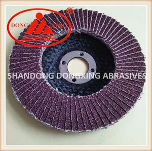 Abrasive Flap Wheel with Sand Paper for Metal