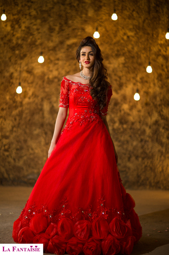 Red Christian Wedding Gowns at Best Price in New Delhi