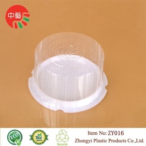Clear Disposable Plastic Cake Dome Containers