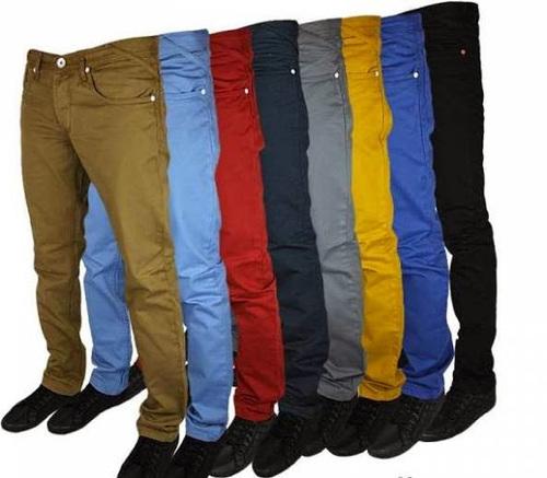 Mens Branded Cotton Trouser