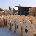 Industrial Wooden Cable Drum