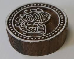 Block Printing Designs On Wooden
