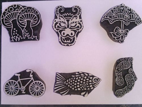 Classic Wooden Printing Crafts