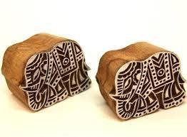 Designer Wooden Craft Printing Design Pilkhuwa