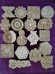 Modern Wooden Block Printing