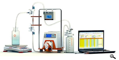 Fully Integrated Tangential Flow Filtration System