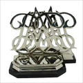 Metal Letter Bookends