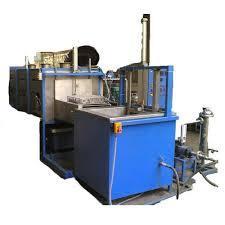 Industrial Cylinder Head Conveyorised Cleaning Machine