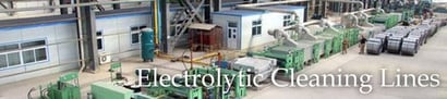 Electrolytic Cleaning Lines