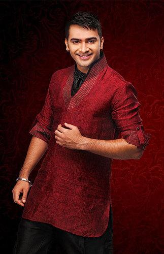Attractive Linen Pathani Kurta