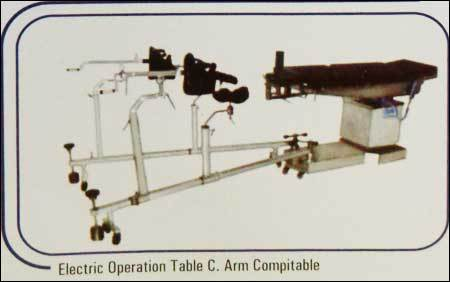 Electric Operation Table C Arm Compitable
