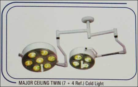 Major Ceiling Twin Cold Light