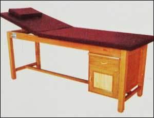 Massage Cum Treatment Table (Wooden)