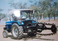 Tractor Mounted Trench Digger