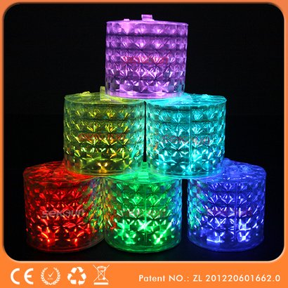 Inflatable Emergency Rechargeable Color-Changing Solar Lantern