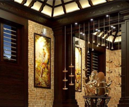 Pooja Room Interior Solutions in Medavakkam Chennai V2Interiors