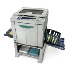 Riso Digital Master Printer MZ870A