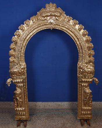 Brass Prabhavali / Thiruvachi